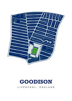 74ef0cd1ae3 Everton FC Goodison Park. Art Print by LifeMappd on Etsy Goodison Park,  Football Cards