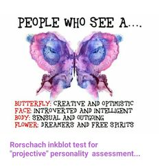 Inkblot personality test...