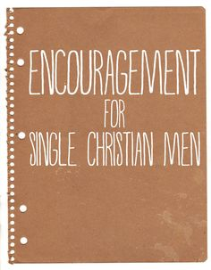 Christian singles ministry topics