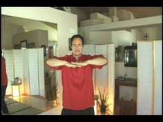 Qigong Beginning Exercises : Qigong Exercises: Gathering Heaven Chi - YouTube