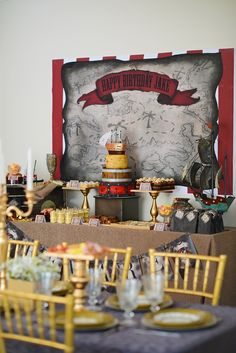 (Little Big Company The blog) Ahoy Me Hearties a Fantastic Pirate Party by PJ By Design