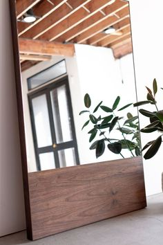 Kings Mirror - Croft House Design Studio - LA, California – CROFT HOUSE Salon Mirrors, Home Decor Mirrors, Handmade Home Furniture, Furniture Decor, Mirror Furniture, Nice Furniture, Bench Decor, Gym Decor, Furniture Inspiration
