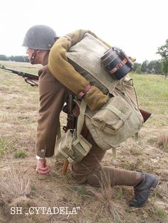 Ww2 History, Military History, Poland Ww2, Combat Gear, Military Diorama, World War Two, Armed Forces, Troops, Wwii