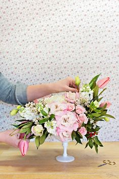 Tips + Tricks for Valentine's Day Floral Arranging