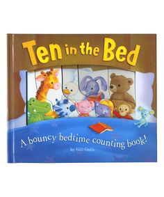 Look what I found on #zulily! Ten in the Bed Board Book by tiger tales #zulilyfinds