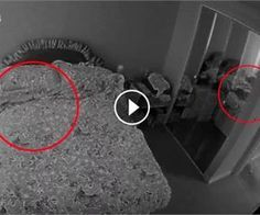 Security Camera Catches Creepy Grudge Ghost in the Mirror