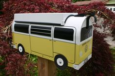 EXAMPLE  Custom Made To Order Volkswagen Bus Mailbox by TheBusBox, $119.00  Camper, VW, Bus, Volkswagen, Mail, Box, Home, House, Garage, Shop, Bulli, Kombi, Bulli, Bay, Bay Window, Westy, Wesfalia