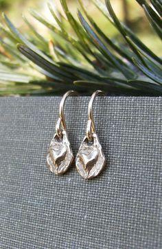 Gold Heart Earrings Valentine Gift Idea by BonArtsStudio on Etsy Dainty Jewelry, Heart Jewelry, Tribal Jewelry, Small Earrings, Heart Earrings, Heart Charm, Tiny Heart, Gifts For Your Girlfriend, Etsy Jewelry
