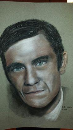 Robbie Williams pastelkrijt