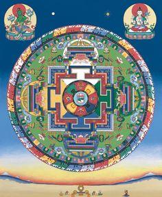 Avalokiteshvara Mandala with Green Tara