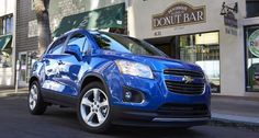 chevy trax in brilliant blue metallic