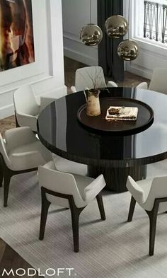 Extra Large Solid Walnut Expandable Round Jupe Dining