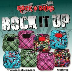 Thoughts of Fluff: Rockabums #RockItUp Prints Release and Giveaway