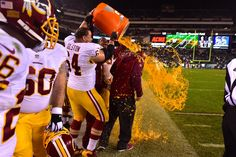 PHOTOS: Redskins Celebrate Their Division Title!