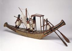 Boat Model, Ancient Egypt collection - World Museum, Liverpool museums
