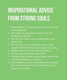 Inspirational advice from strong souls ♥ https://www.facebook.com/photo.php?fbid=10211240326860615&set=a.10205033640777342.1073741826.1132264026&type=3&theater   https://www.facebook.com/sulay.liriano
