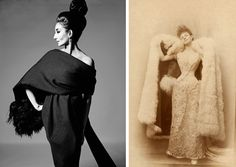 """Vanessa Friedman, """"When the Famous Dressed Themselves,"""" The New York Times (11 November 2015). The Met and the Palais Galliera in Paris are unveiling shows celebrating two women with fabulous style (and no stylists): Jacqueline de Ribes and Élisabeth, Countess Greffulhe."""