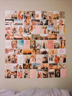 Trendy wall collage diy polaroid 34 Ideas diy wall is part of Room decor - # .Trendy wall collage diy polaroid 34 Ideas diy wall is part of Room decor - Creative DIY Photo Decoration Photo, Decoration Bedroom, Room Decor Bedroom, Teen Bedroom, Bedroom Inspo, Teenage Bedrooms, Girl Bedrooms, College Bedrooms, Diy Bedroom