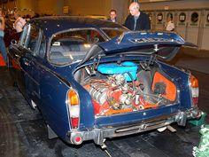 Tatra T603 Car Engine - 1962