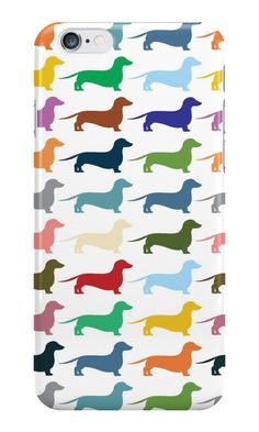 """Dachshund"" iPhone Cases & Skins by opul 