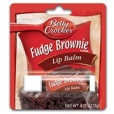Buy Gag Gifts is your source for Gag and Novelty gifts including Betty Crocker Lip Balm: Fudge Brownies Homemade Lip Balm, Homemade Moisturizer, Betty Crocker Fudge Brownies, Fudge Flavors, Chapstick Lip Balm, Homemade Acne Treatment, Flavored Lip Gloss, Best Lip Balm, Nice Lips