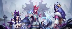 Lol League Of Legends, Comic Character, Neko, Mobiles, Fandoms, Fan Art, Manga, Comics, Anime Stuff