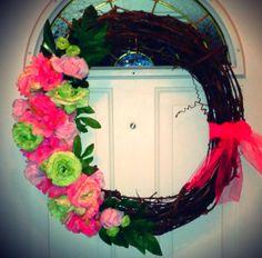 Valentine's Day/Spring Wreath