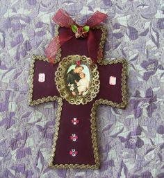 Religion Catolica, Textiles, Diy Jewelry, Diy And Crafts, Mandala, Quilts, Antiques, Pattern, Vintage