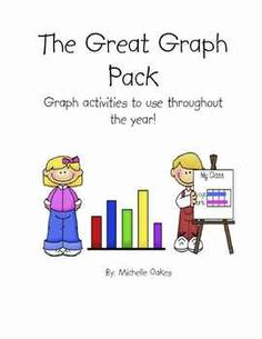 Begin your year with a pack of graphs that will take you through your school year.