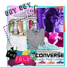 Get Out of The Fold with Converse and Lady Foot Locker, created by minniesoda.polyvore.com