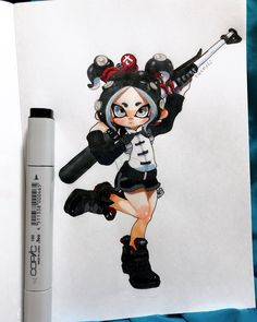 Splatoon 2 Game, Splatoon Comics, Character Art, Character Design, Minions, Cool Artwork, Game Art, Amazing Art, Illustrations