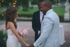 live.love. laugh. #pink #blush #searsuckersuit #oba #wedding