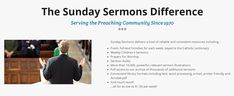 Since 1970, Sunday Sermons has been helping thousands of priests to answer the call each week with powerful, relevant and engaging homiletic resources.