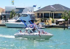 Australia Day Flotilla at Port Sails Canal Villa, Mandurah Accomodation