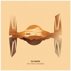 """tiefighters: """" Star Wars: The Force Awakens Series by Philip Sultana """""""