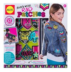 Alex Toys Craft Iron and Wear Rad Patches Toy Craft, Craft Kits, Adult Crafts, Crafts For Kids, Best Christmas Toys, Christmas Presents, 10 Year Old Gifts, Sunshine Crafts, Frozen Headband