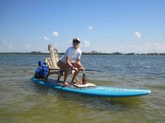 Chillin on an #SUP paddle board in SW Florida