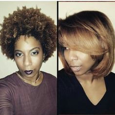 Curly or straight #versatility