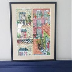 Blaue Balboa tanzen paar A3 A2 A1 Art Deco Bauhaus | Etsy Art Deco Illustration, Poster Print, Art Deco Stil, Bauhaus, A3, Etsy, Vintage, Frame, Home Decor