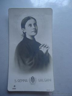 ESTAMPA S. GEMMA GALGANI. GEMA GALGANI. IMPRESA EN ITALIA. 1685 nb