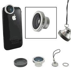 Magnético de 180 graus lente olho de peixe para iPhone / iPad e outros Celular (cores sortidas) – BRL R$ 20,66