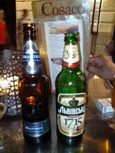 Cervecitas Rusa y Ucraniana en el Cosaco