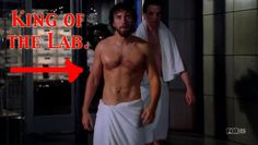 King of the Lab, Jack Hodgins.