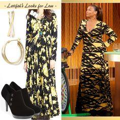 Queen Latifah's Look for Less: April 22