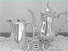 Coffee pot and Hot water jug