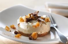 Honeycomb Cheesecake; could be good with a caramel center