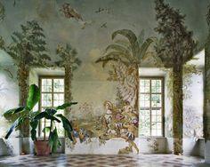 Gartenpavillon Stift Melk Wall Murals Johann W. Bergl