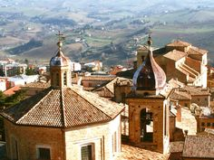 Macerata, Le Marche  Where I studied for 3 years...