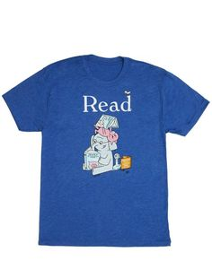 Look what I found from Out of Print! Elephant and Piggie Read unisex book t-shirt – Out of Print #OutofPrintClothing