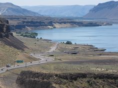 Columbia River Gorge, Vantage, Washington